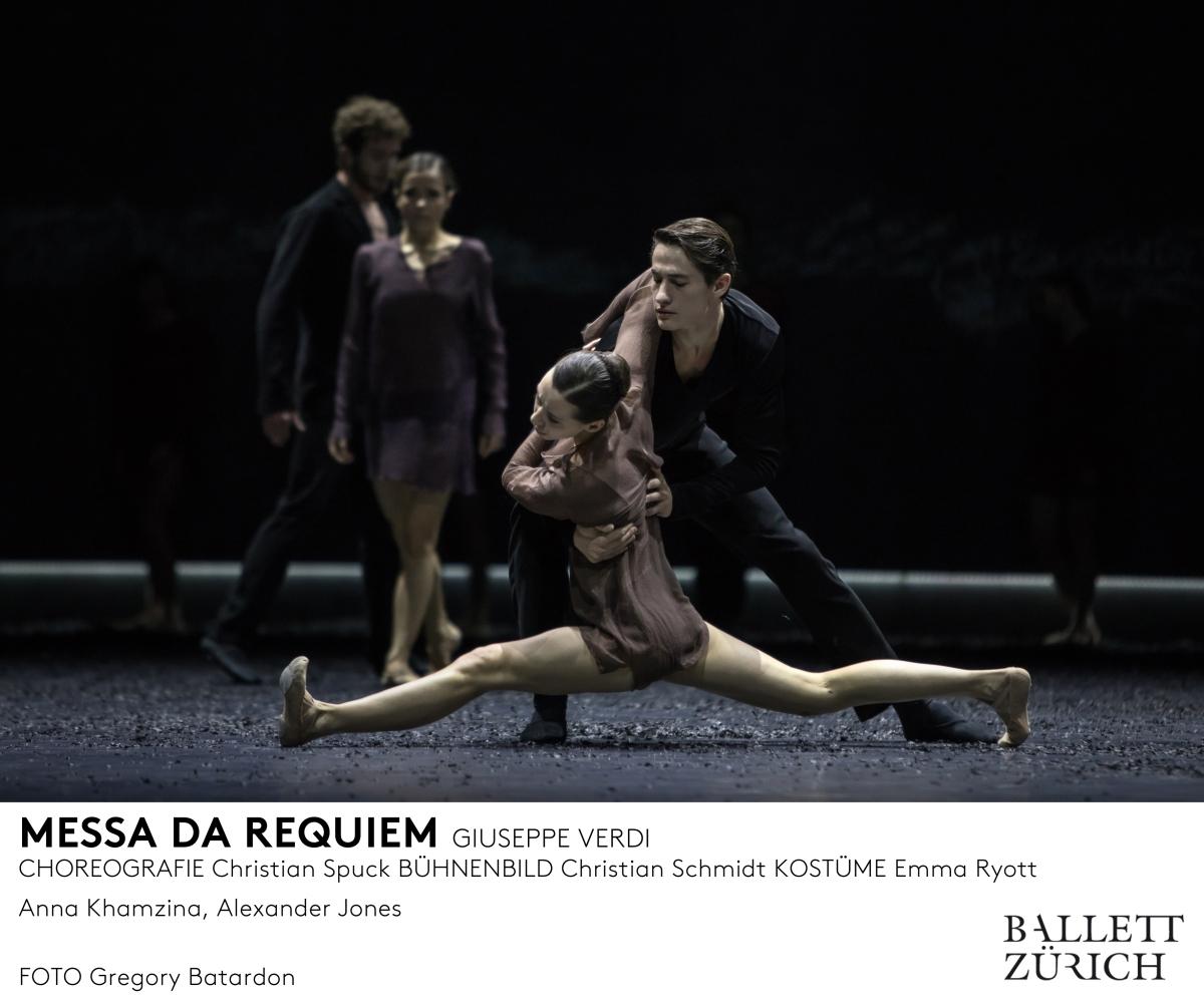 Ballett Zürich revolutioniert Verdi'sRequiem