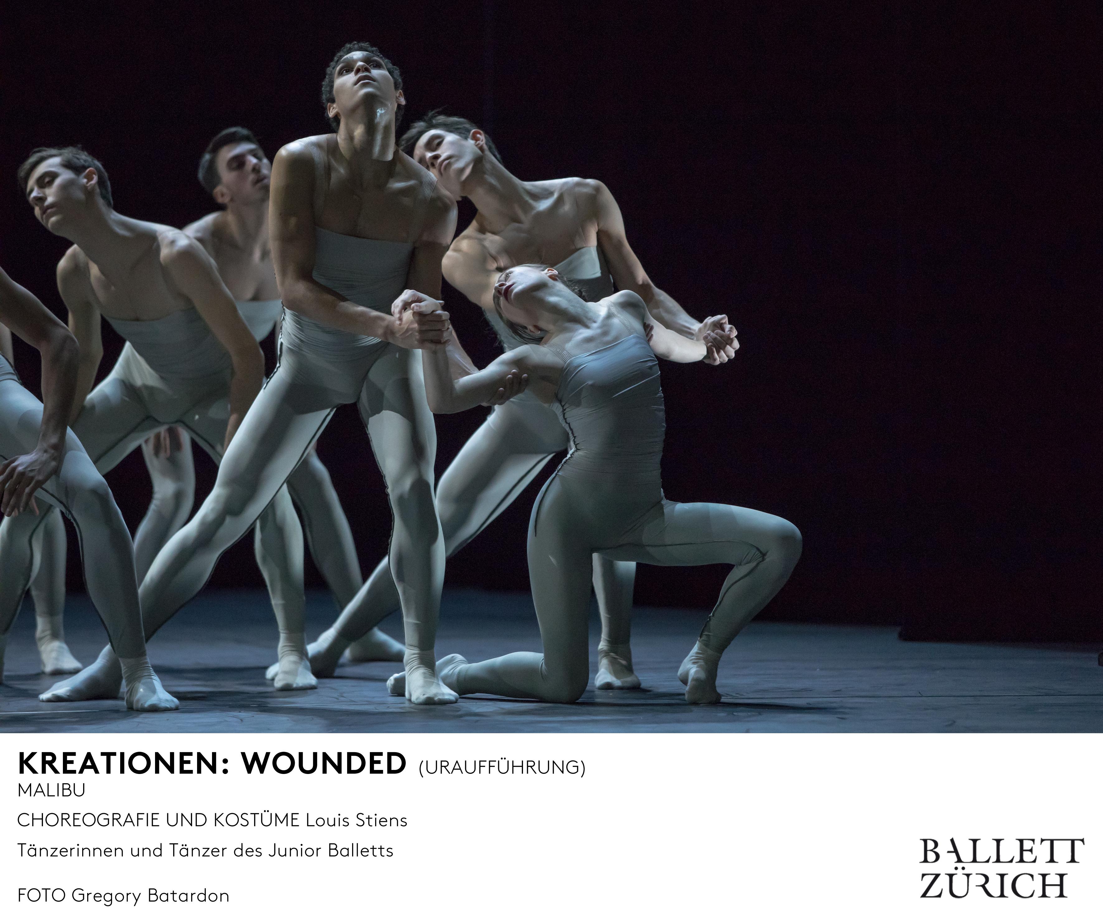 Ballett Zürich - KREATIONEN - Junior Ballett - 2018/19