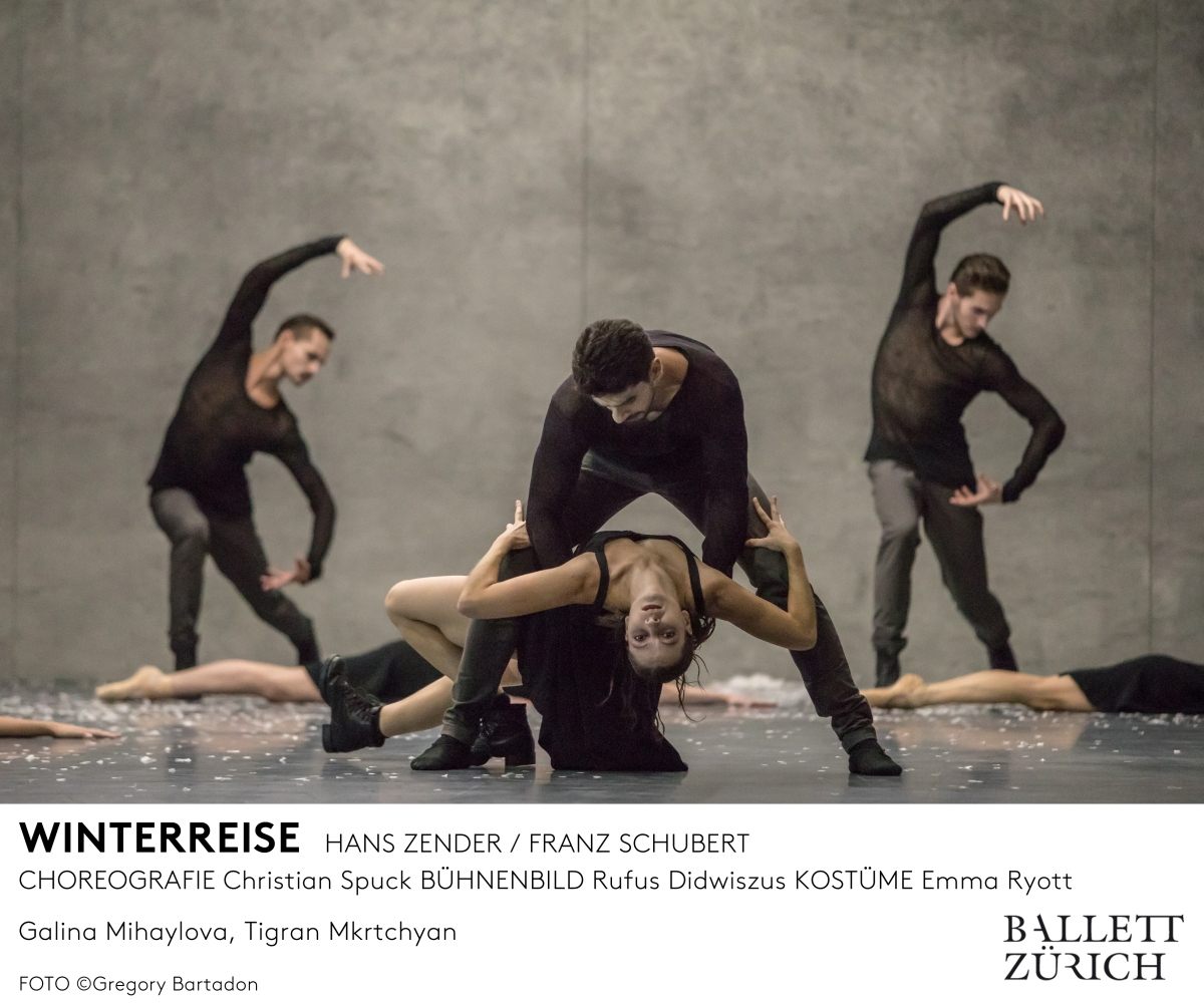 Free Live Streaming of Winterreise by Ballet Zurich on 13 Feb