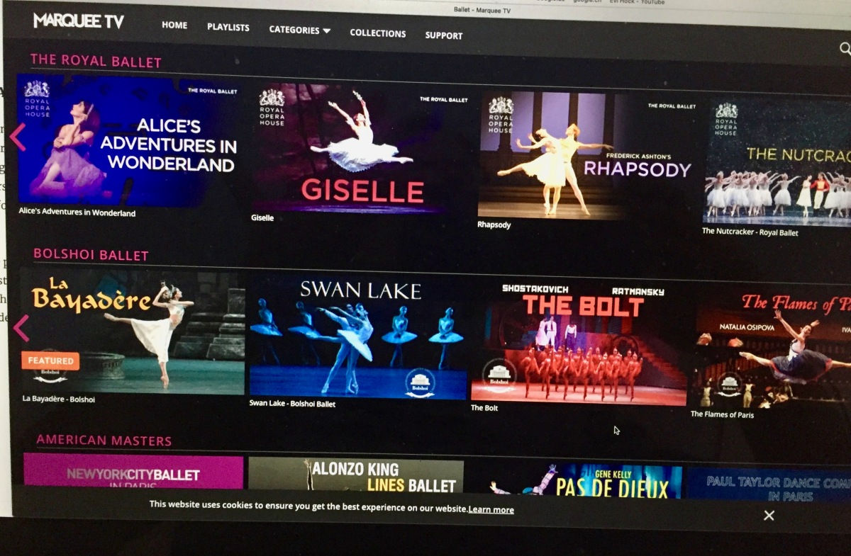Marquee.TV – Your One Stop Shop for Ballet and Dance