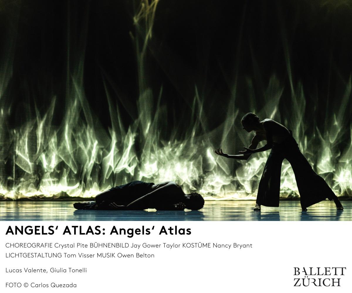 Sagenhafter Ballettabend Angels'Atlas